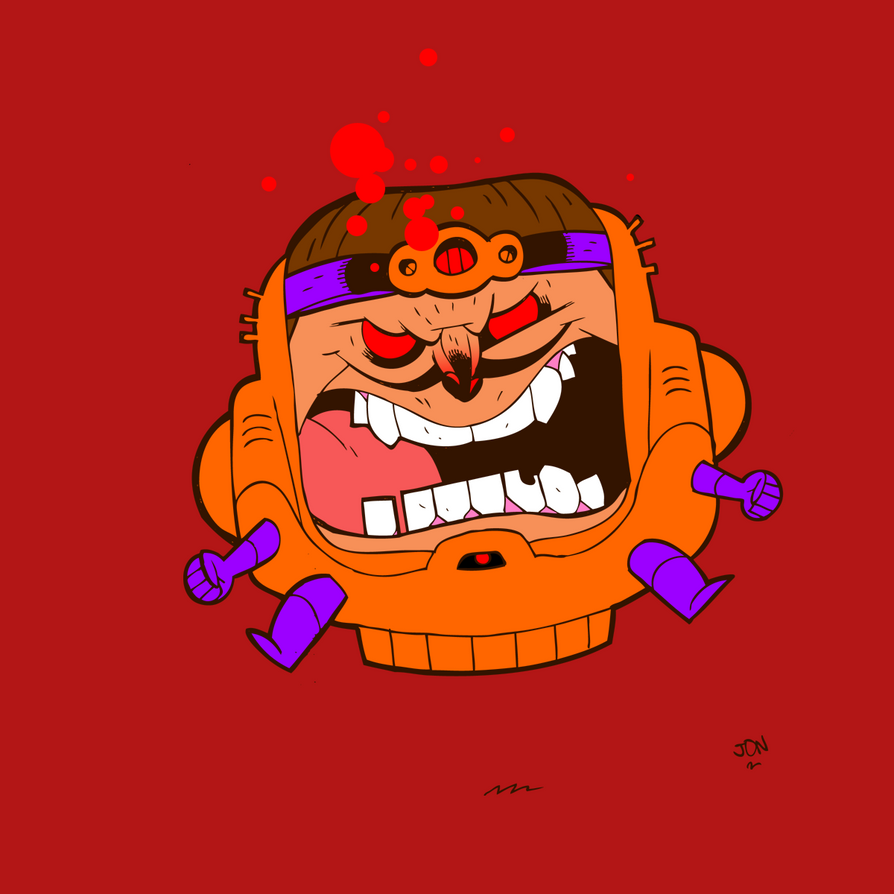 March MODOK Madness by CalamityJon