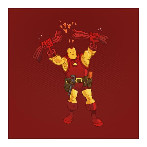 IRON MAN by CalamityJon