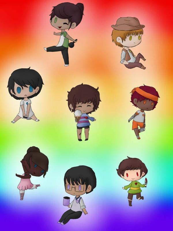 the 7 human souls by tmntgirl4318