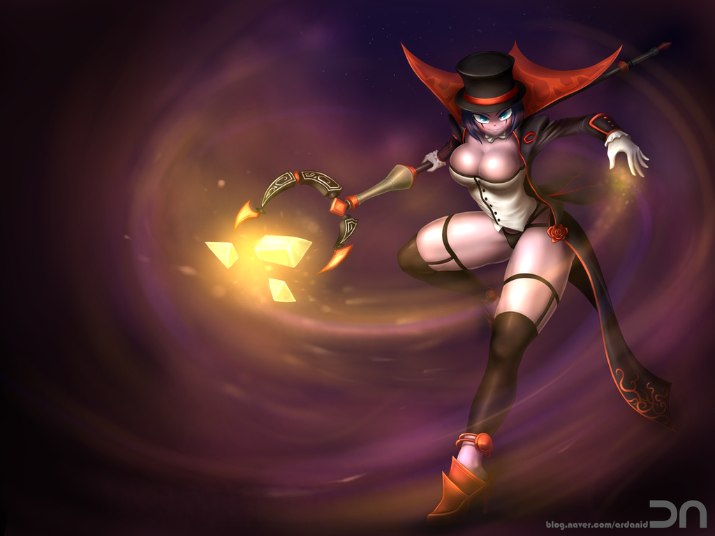 League Of Legends - LeBlanc by Nestkeeper