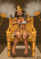 League of Legends - Pharaoh Nindalee by Nestkeeper