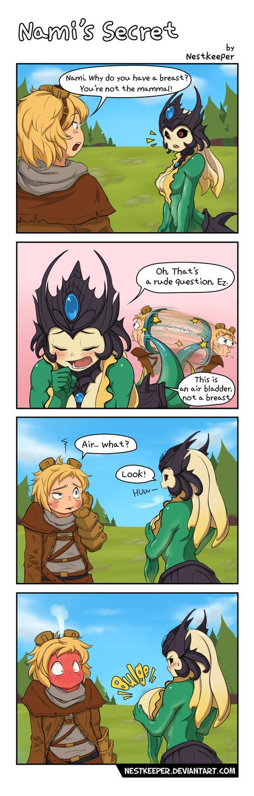 Nami's secret by Nestkeeper