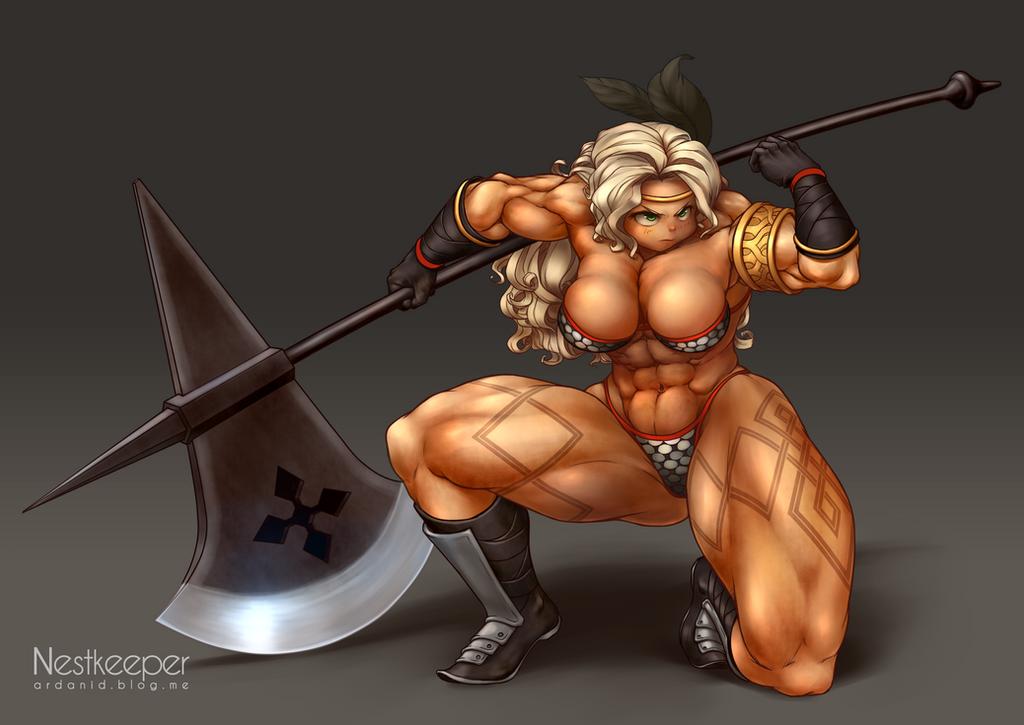 Amazonian women body type
