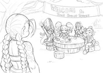Doodles - 20130930 by Nestkeeper