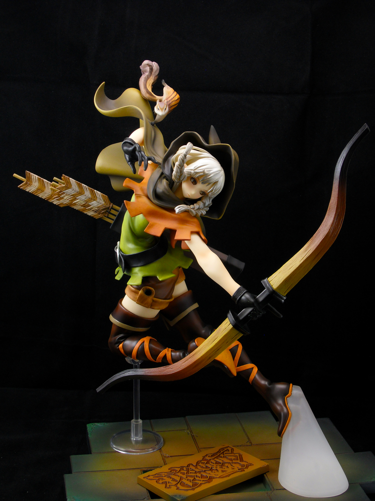 Dragon's Crown Elf Figure by Nestkeeper