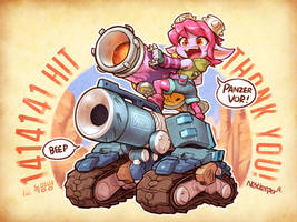 Riot Girl Tristana and Blizzcon Bastion