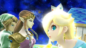 Zelink encounter with the princess of the galaxy.