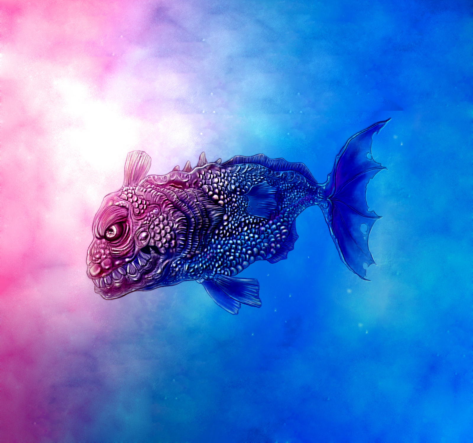 Monster Fish: Fish Monster By