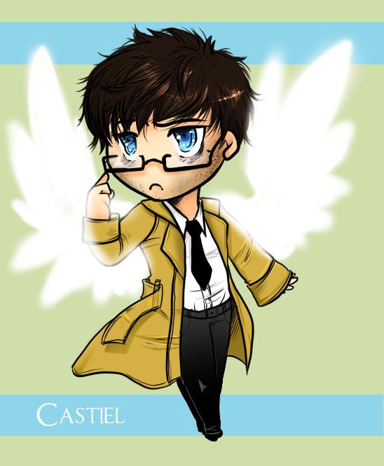 Lil Castiel by AzureGarlic