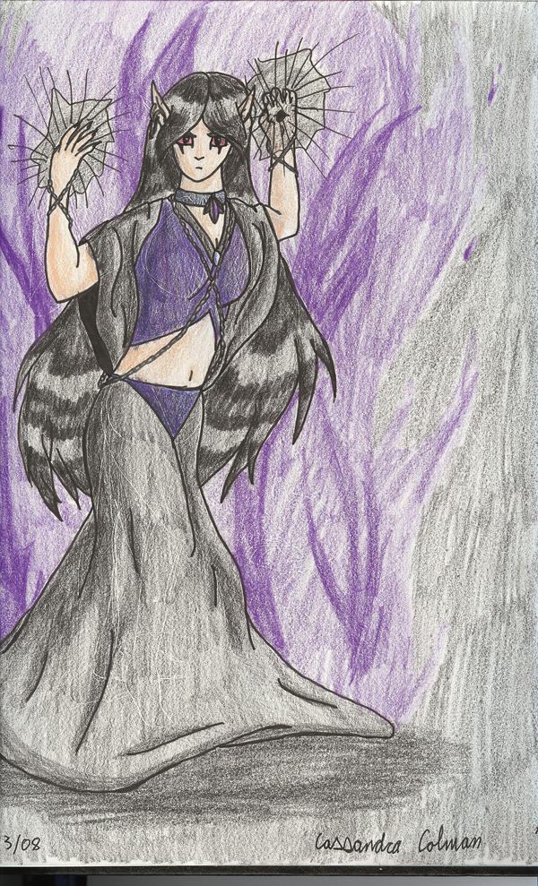 Evil Sorceress by Saerphe on DeviantArt
