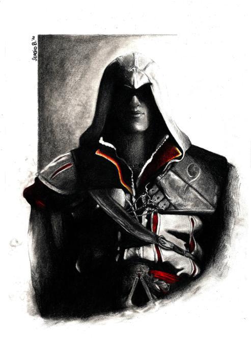 Ezio Auditore Di Firenze by HeroOfPencil
