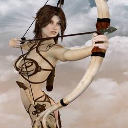Elven Archer by Mickytroisd