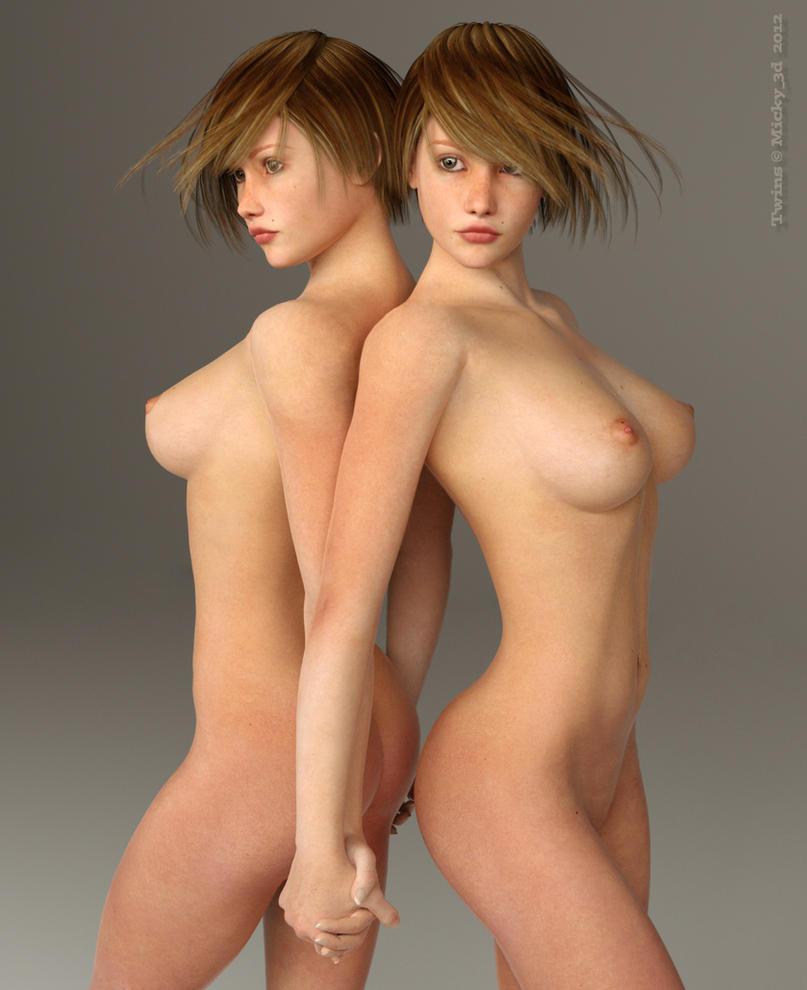 Twins by Mickytroisd