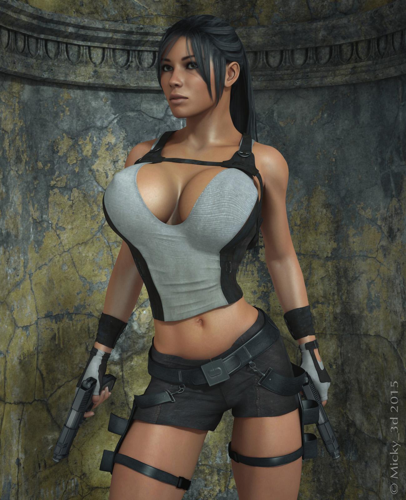 Lady croft 3d erotica image