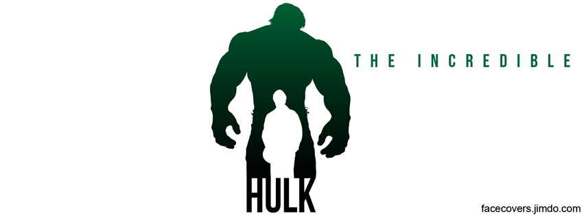 The Incredible Hulk - Facebook Cover by rockIT-RH on