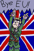 England Is Out! by JustALittleAmerican