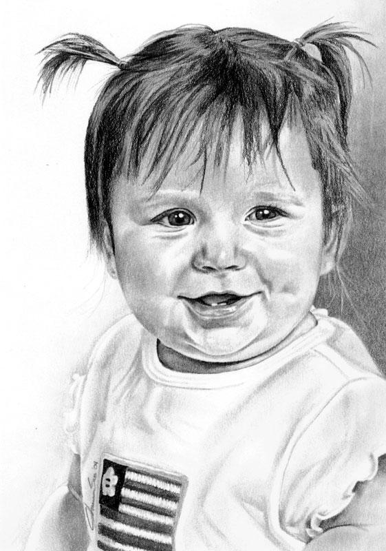 Anna 1 year old