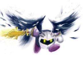 Metaknight The Demon Winged Angel by cochinosanchez
