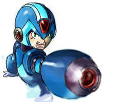 MegamanX by cochinosanchez