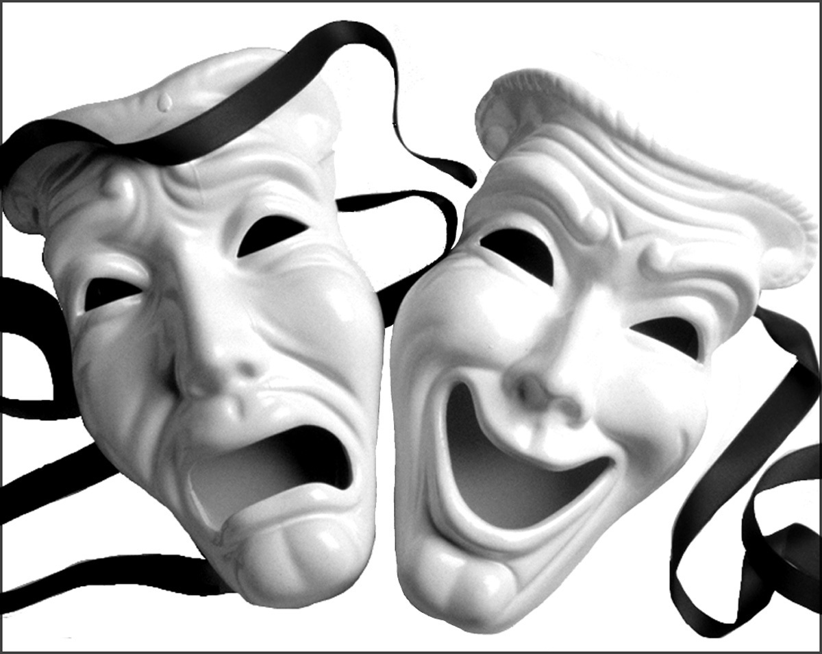 Drama Mask by hillllallll