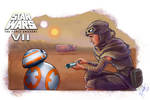 Rey's Droid (3) - Star Wars: The Force Awakens