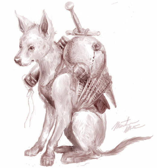 Packdog by MDMartin
