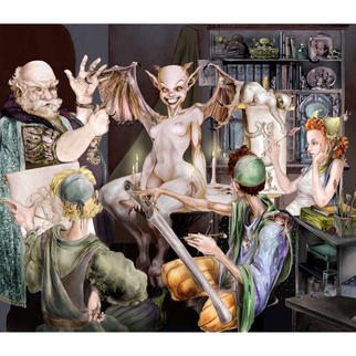 Art Class Nude by MDMartin