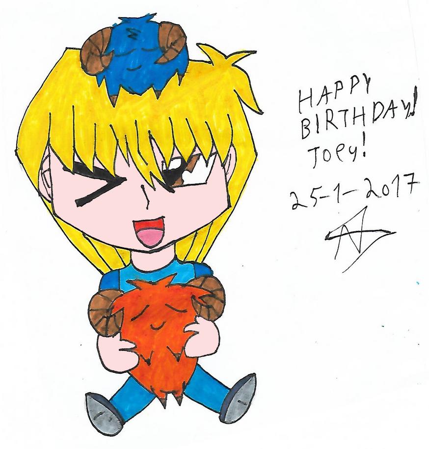 Happy birthday Joey! by Nefeloma21