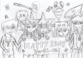Happy birthday yugioh! by Nefeloma21