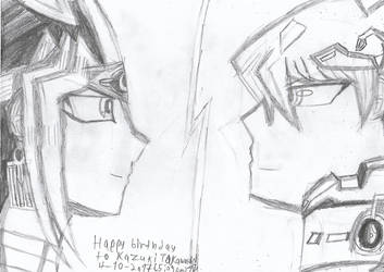 Happy birthday to Kazuki Takahashi! by Nefeloma21