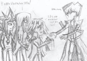 Happy birthday Seto Kaiba! by Nefeloma21