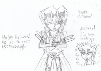 Happy halloween XD by Nefeloma21