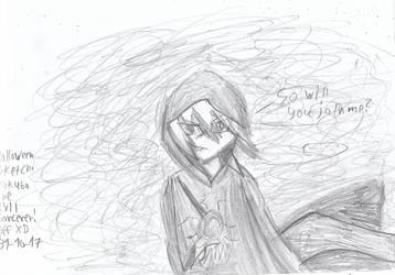 Happy Halloween! Mokuba the evil sorcerer! XD by Nefeloma21