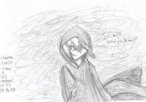 Happy Halloween! Mokuba the evil sorcerer! XD