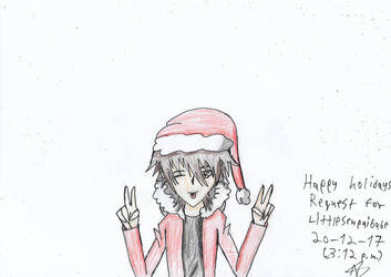 Christmas request! For LittleSenpaiBabe by Nefeloma21