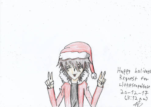 Christmas request! For LittleSenpaiBabe