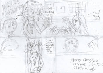 Merry christmas everyone! by Nefeloma21