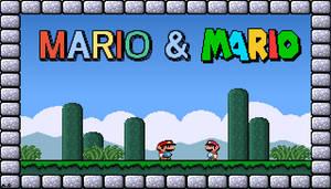 Mario and... Mario?