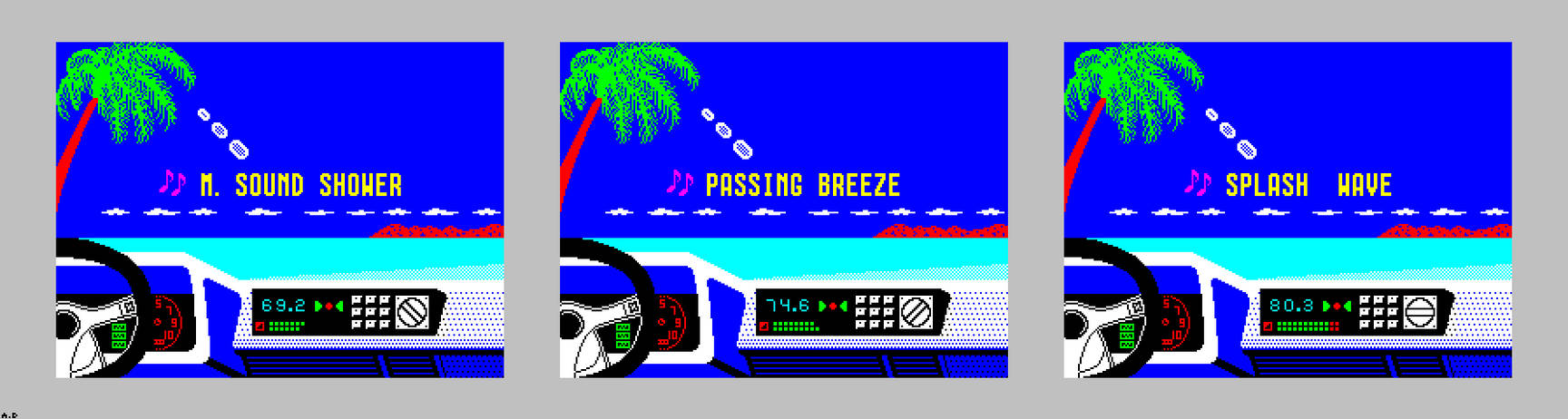 Out Run ZX Spectrum Edition {Completed!}