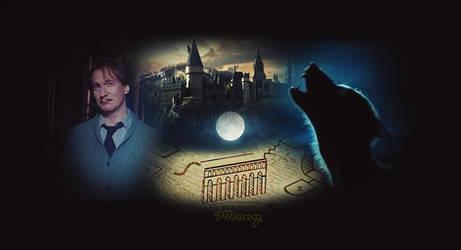 Remus Lupin | wallpaper | by stasiabv