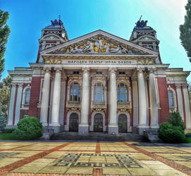 Ivan Vazov National Theatre  by stasiabv