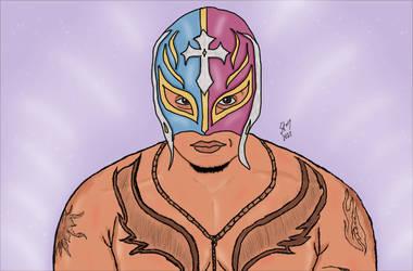 Rey Mysterio by stasiabv