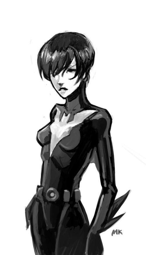 Batgirl Beyond by MK01
