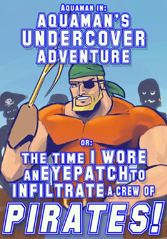 Aquamans Undercover Adventure by MK01
