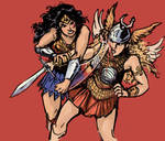 Wonder Woman vs Gundra