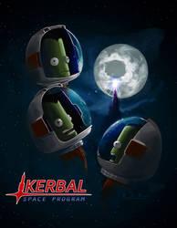 Three Kerbal Mun by MK01