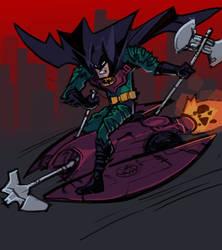 New Year's Bat 2013: GROUND ASSAULT by MK01