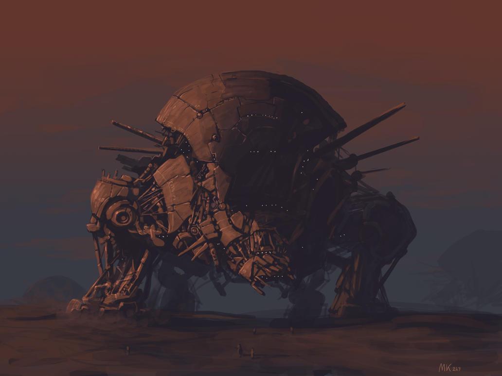 Die Kammer Pandoras Walking_Fortress_by_MK01