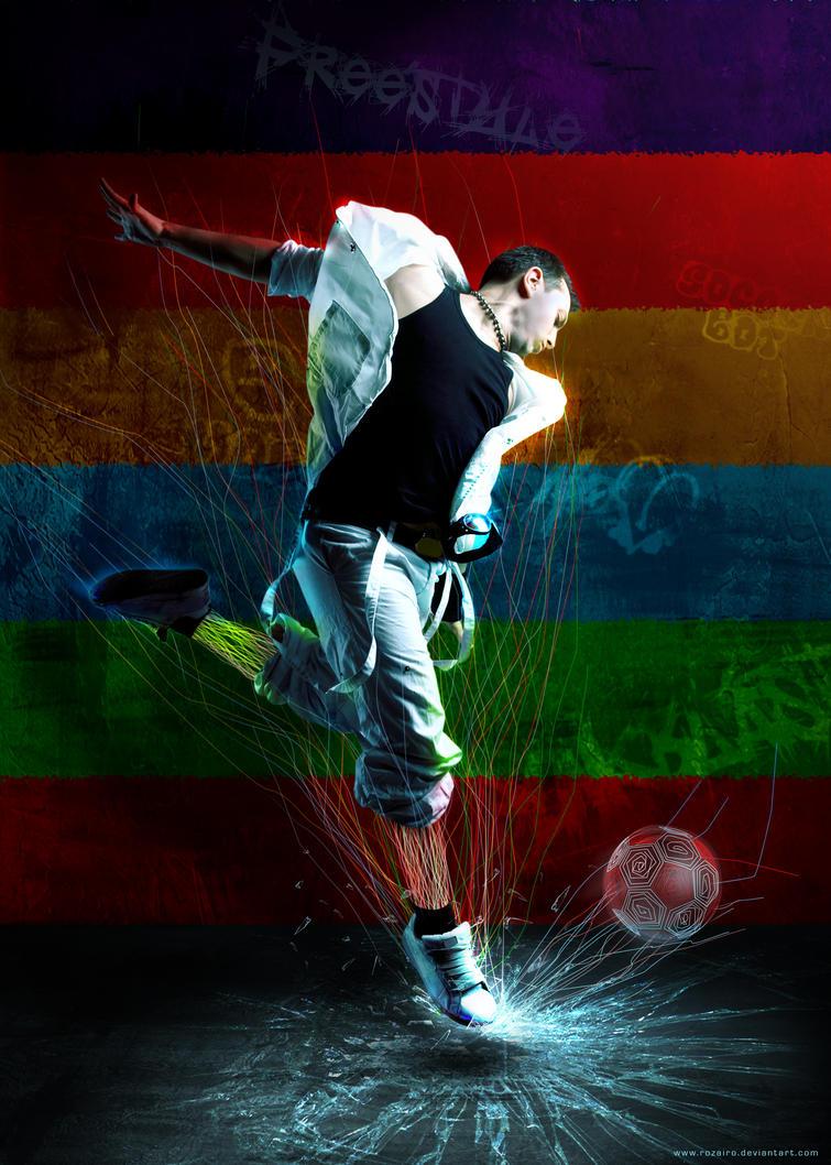 Free-Style-Footballer by Rozairo