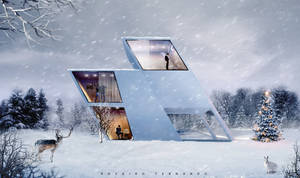 Holiday Winter House